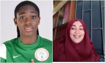 Super Falcons star, Asisat Oshoala mourns as she loses her mother